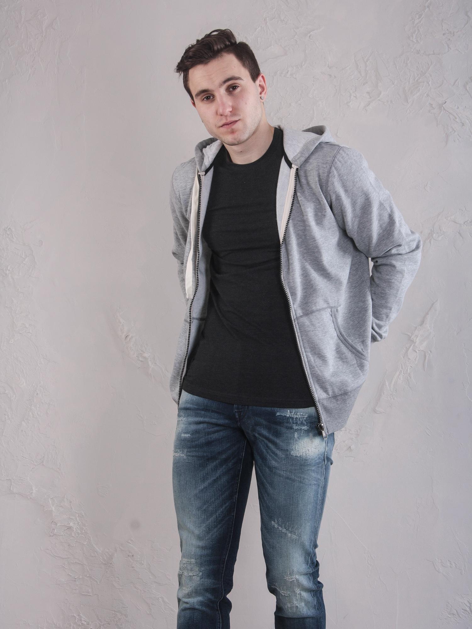 Толстовка Alcott cg5742uow14j  Серый Free Style