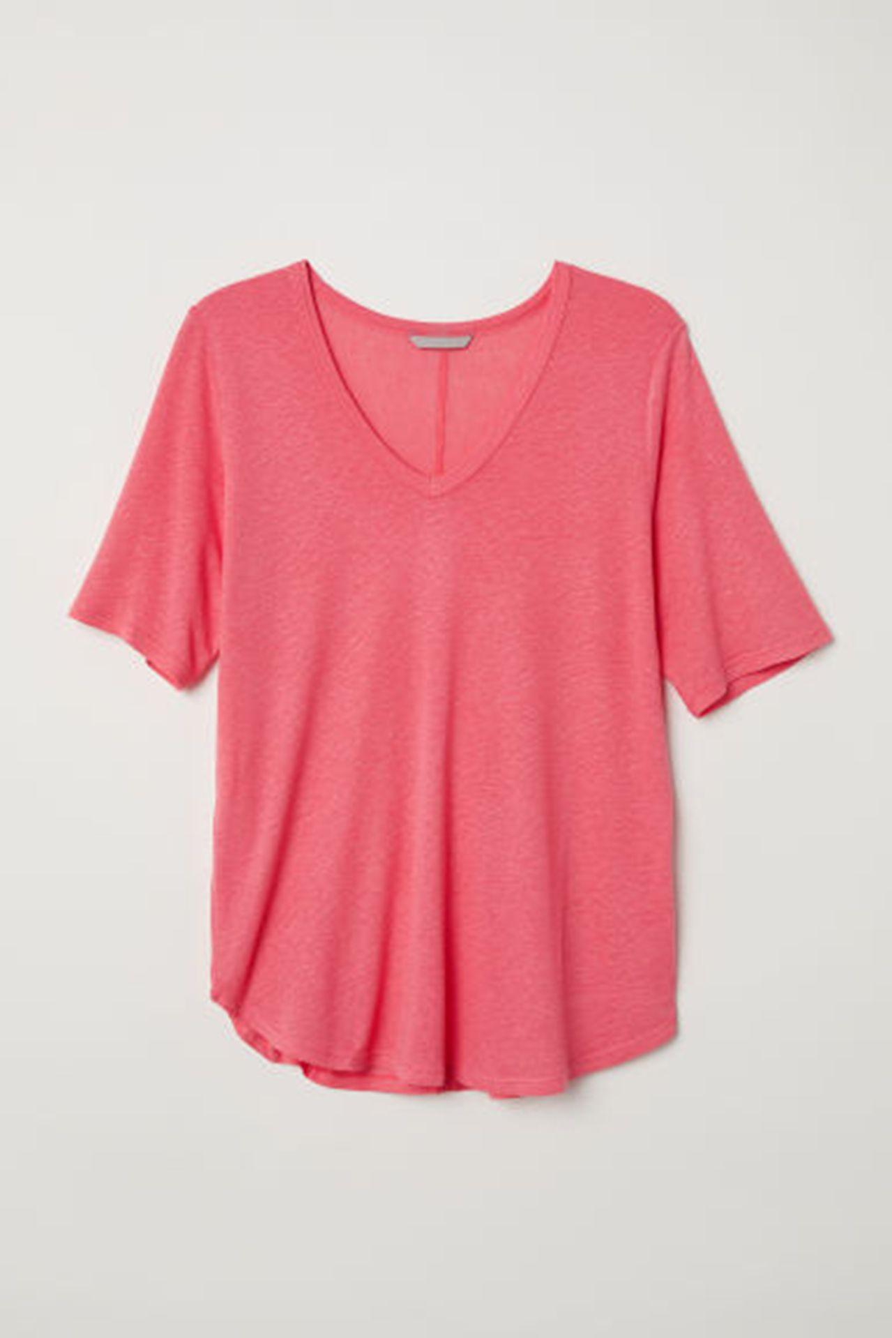 Футболка H&M 0622611 Розовый Free Style