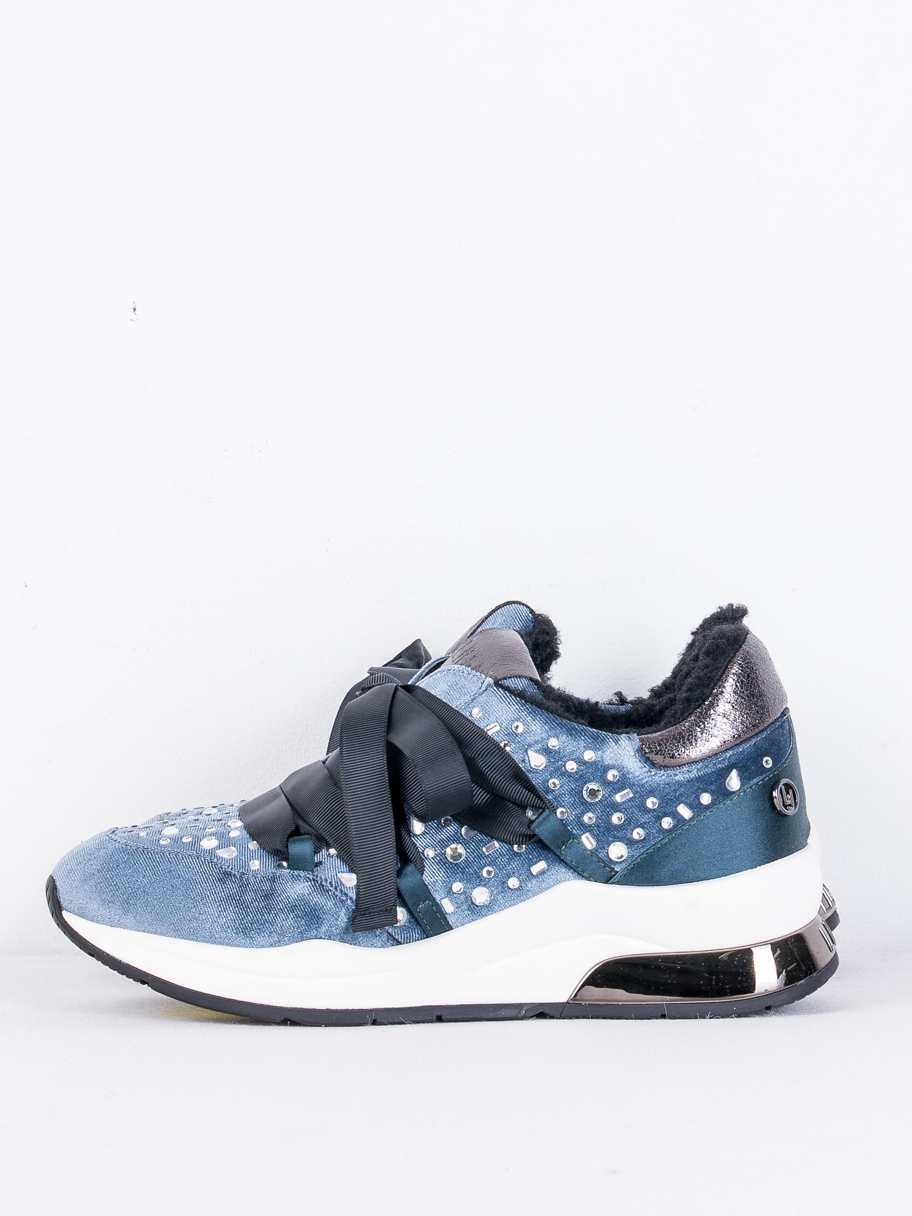 Утепленные кроссовки Liu Jo B68031TX026 37 (7158137) Голубой Free Style