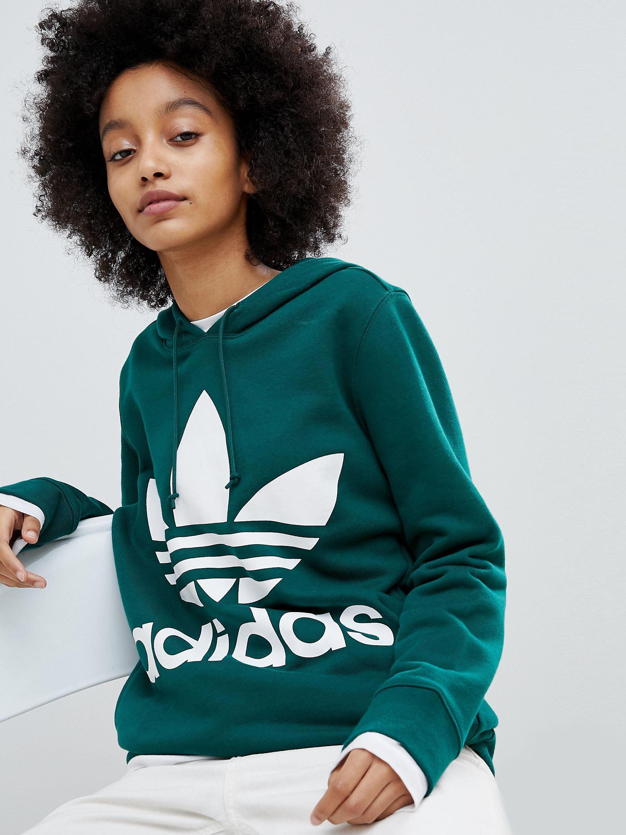 Худи Adidas Зеленый Free Style