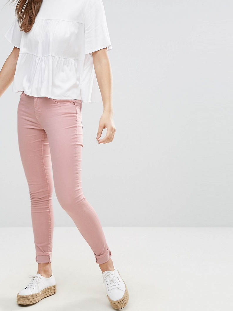 Джинсы Brave Soul ASV190520-11 Розовый Free Style