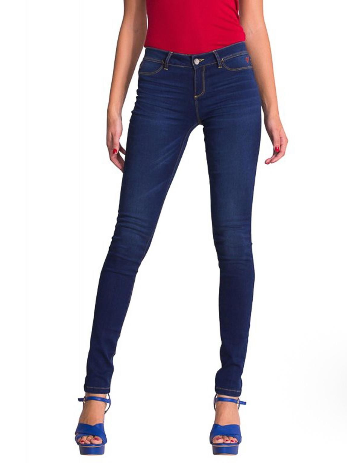 Темно-синие джинсы Desigual 50D26A0  Синий Free Style
