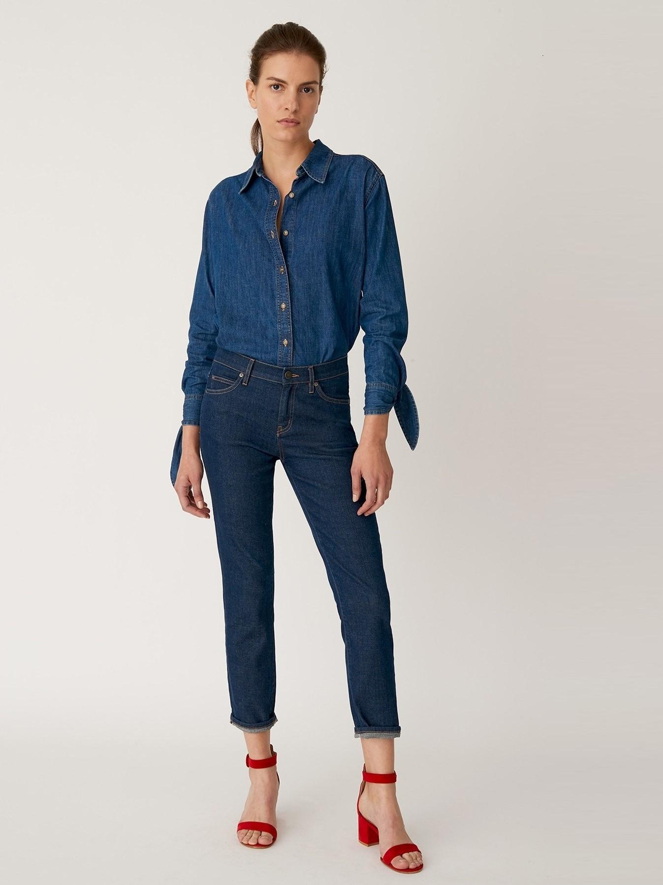 Джинсы MiH Jeans ASA030920-1 Синий Free Style