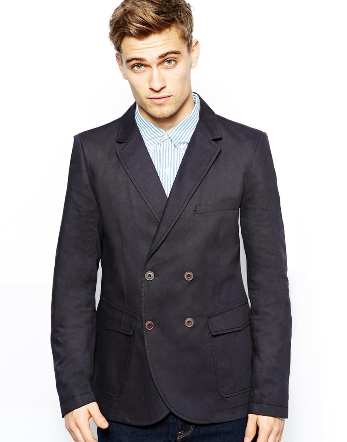 Хлопковая куртка-блейзер French Connection Черный Free Style