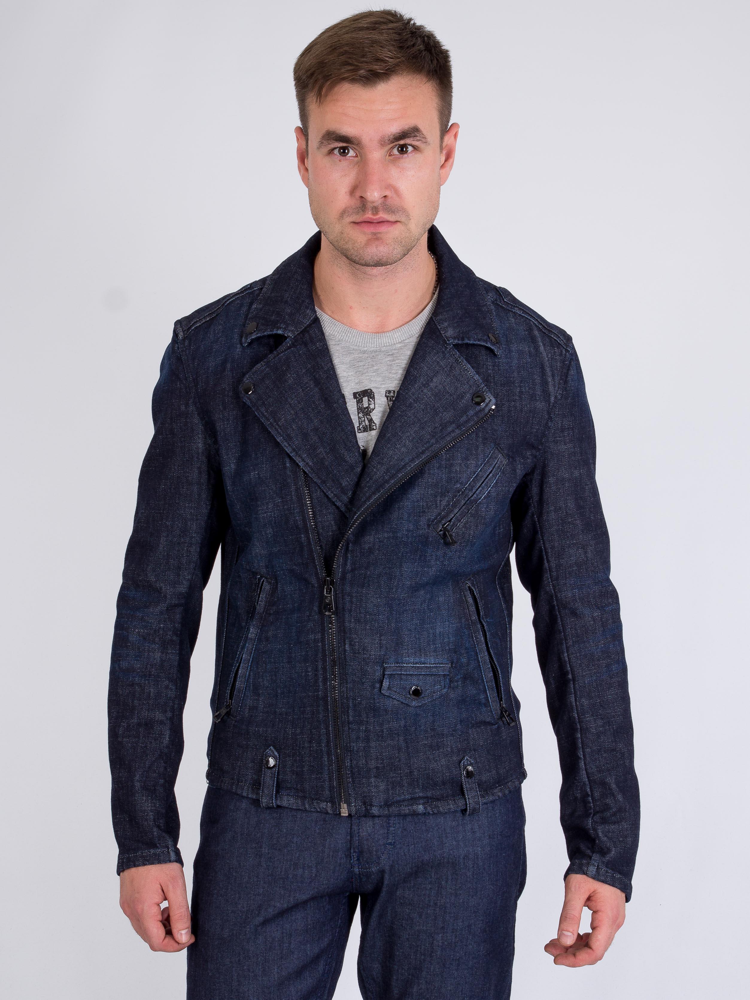 Джинсовая куртка Jack & Jones 217157503 Синий Free Style
