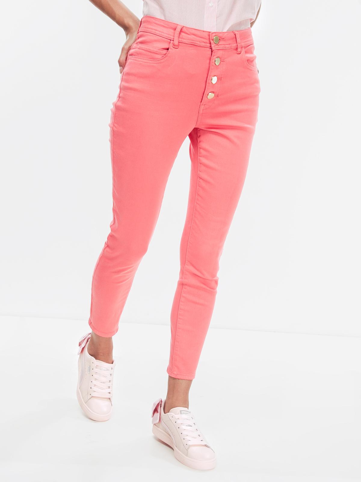 Джинсы Jennyfer Розовый Free Style