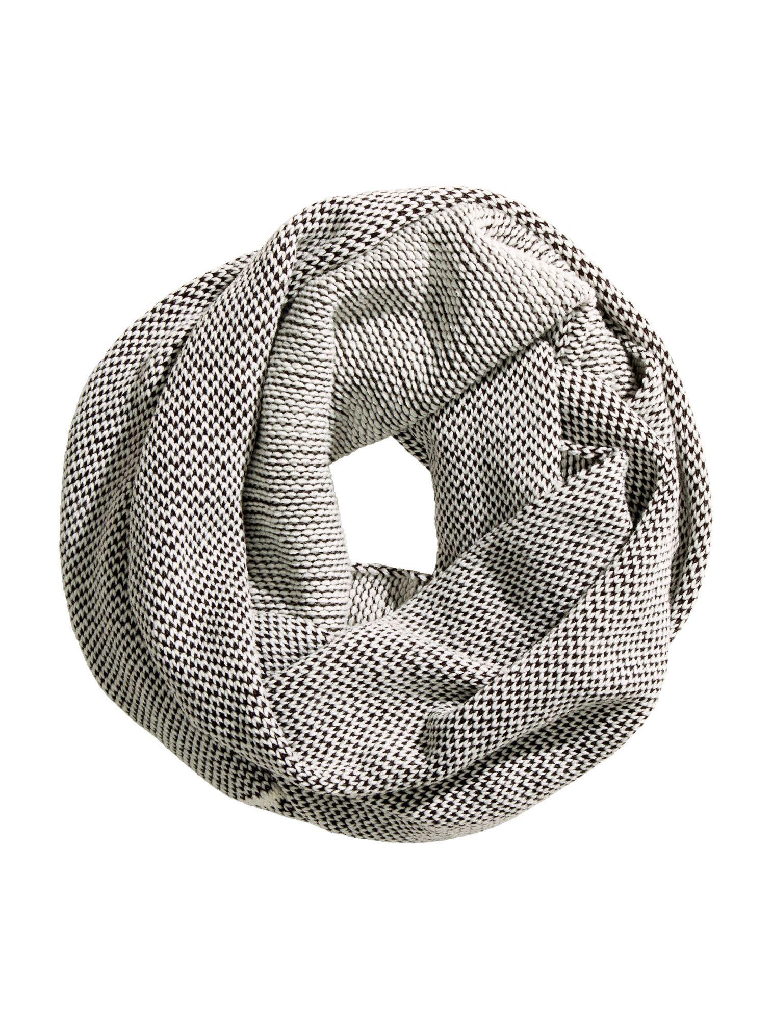 Вязаный шарф-труба H&M 0312829 Серый Free Style