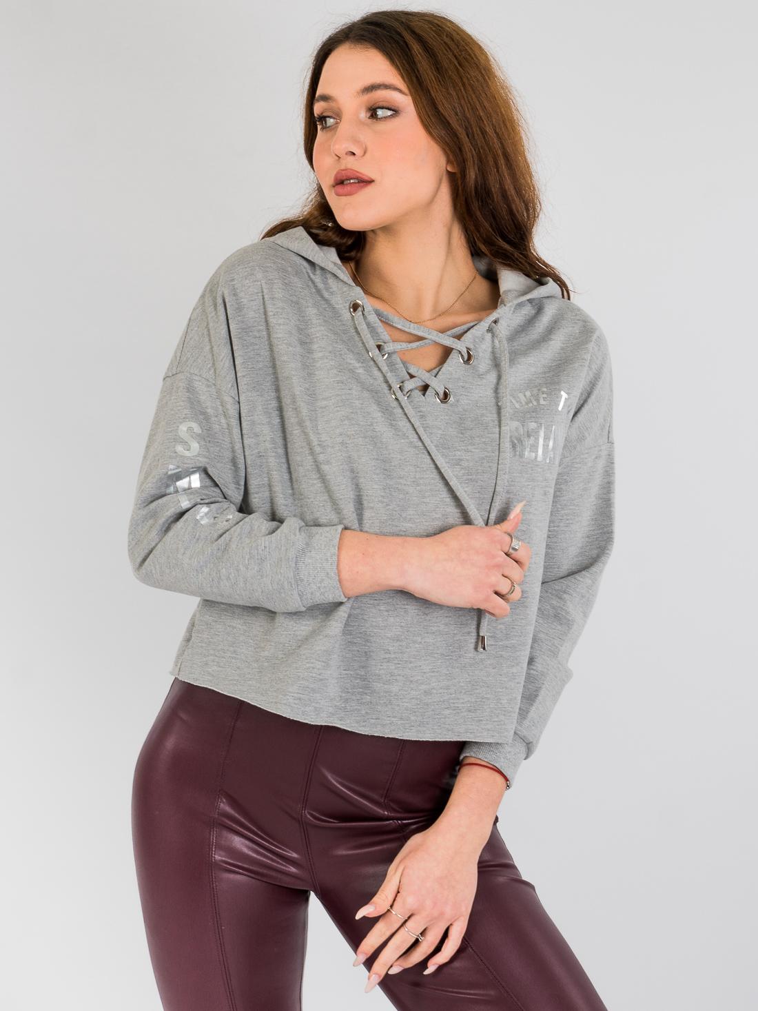 Худи Vero Moda Серый Free Style