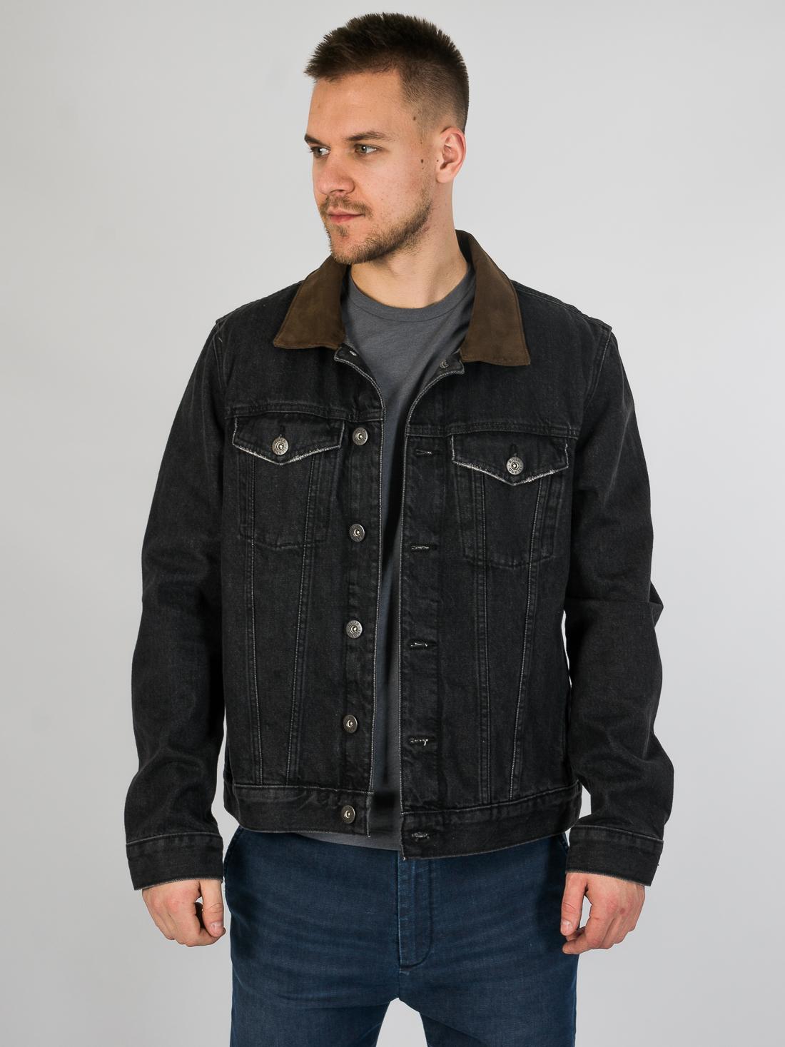 Джинсовая куртка River Island 090320/68 Серый Free Style