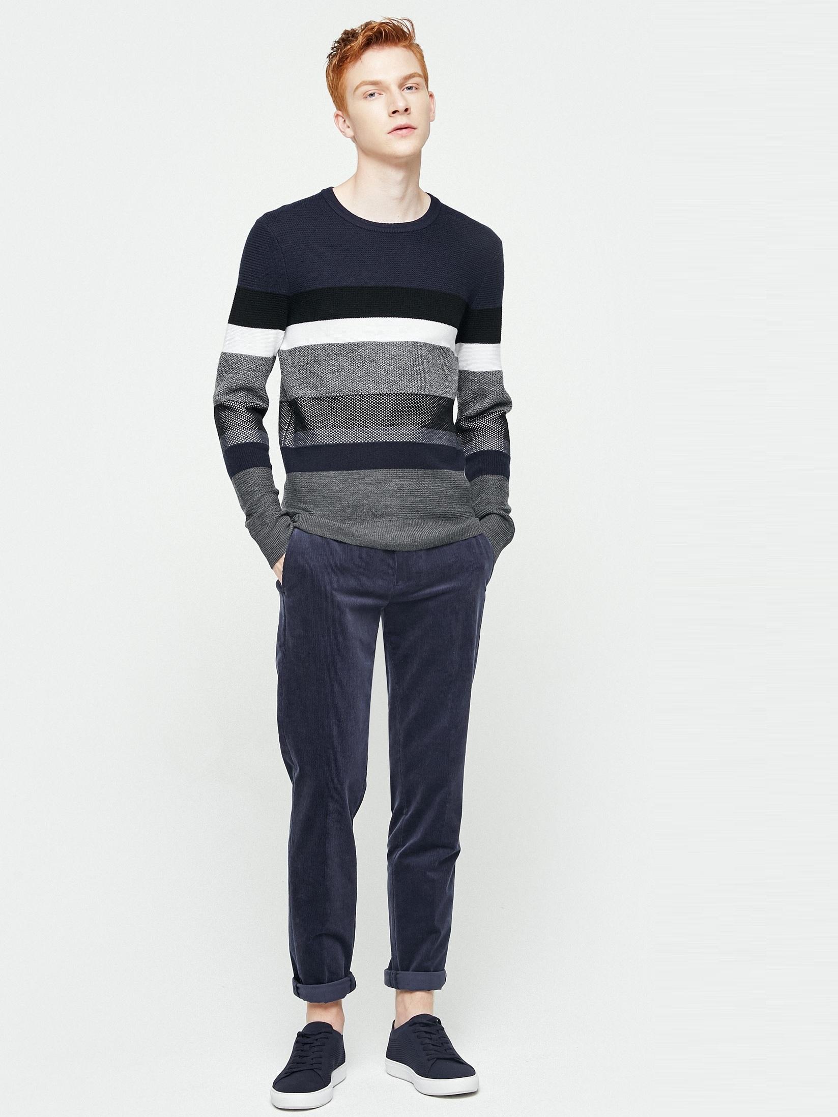 Велюровые брюки Jack & Jones 217314536 Синий Free Style